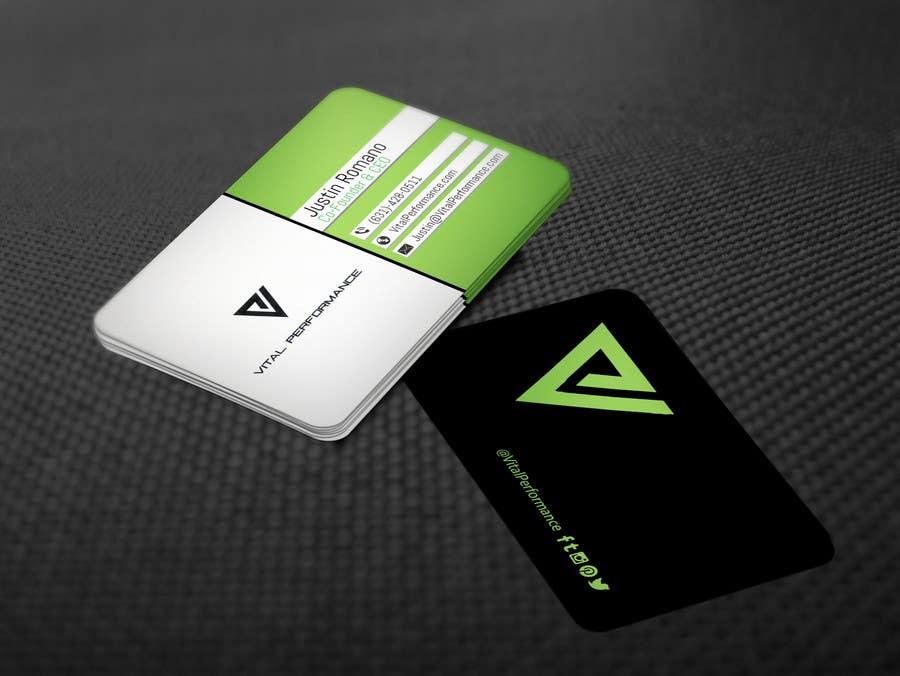 Kilpailutyö #27 kilpailussa Design some Business Cards for Vital Performance