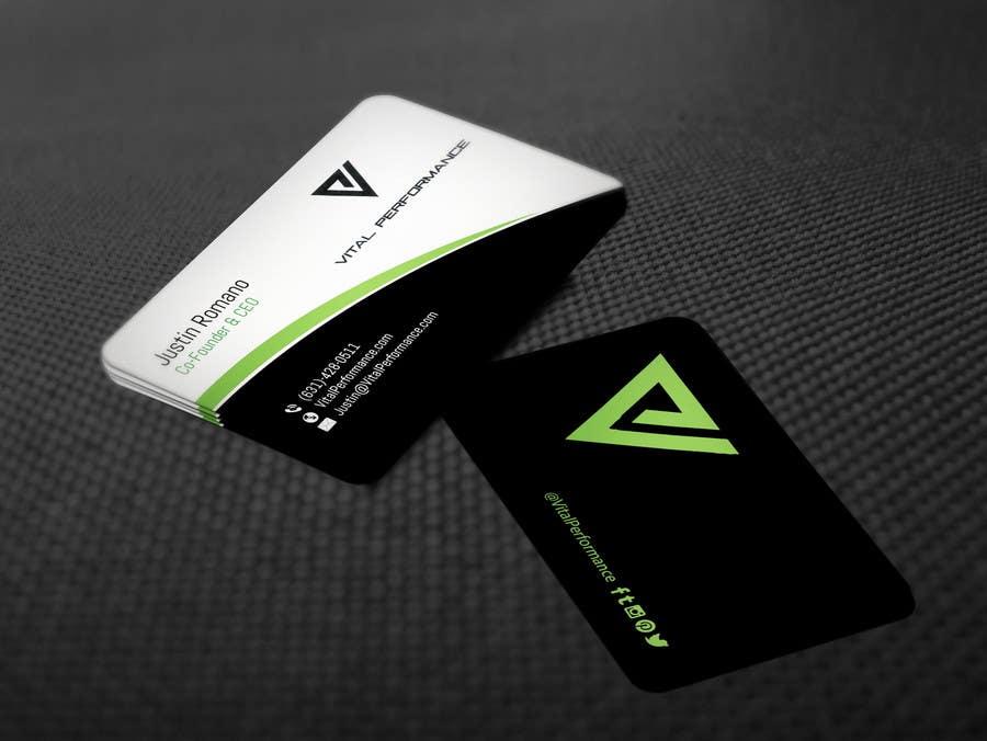 Kilpailutyö #30 kilpailussa Design some Business Cards for Vital Performance