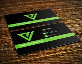 #10 untuk Design some Business Cards for Vital Performance oleh ghani1