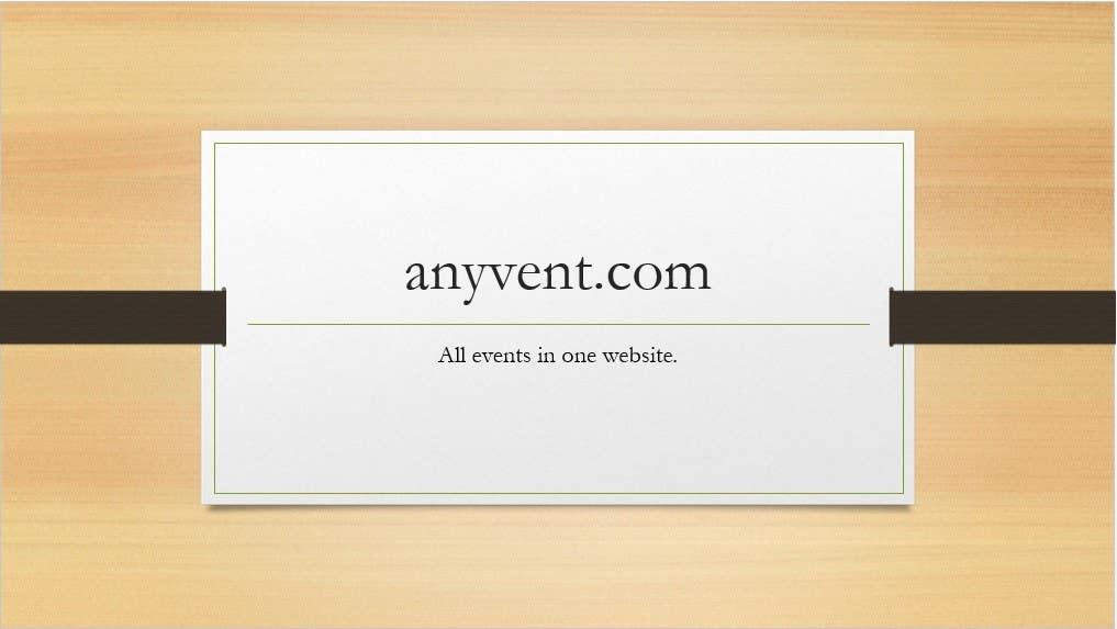 Penyertaan Peraduan #94 untuk Domain Name for Event Site