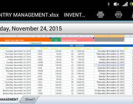 #18 untuk Do some Excel Work for Company to manage inventory oleh ahmadshahbaz38