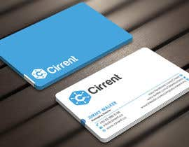 #28 untuk Design some Business Cards for Cirrent.co oleh Derard