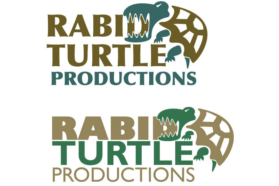 Contest Entry #                                        46                                      for                                         Logo Design for Rabid Turtle Productions