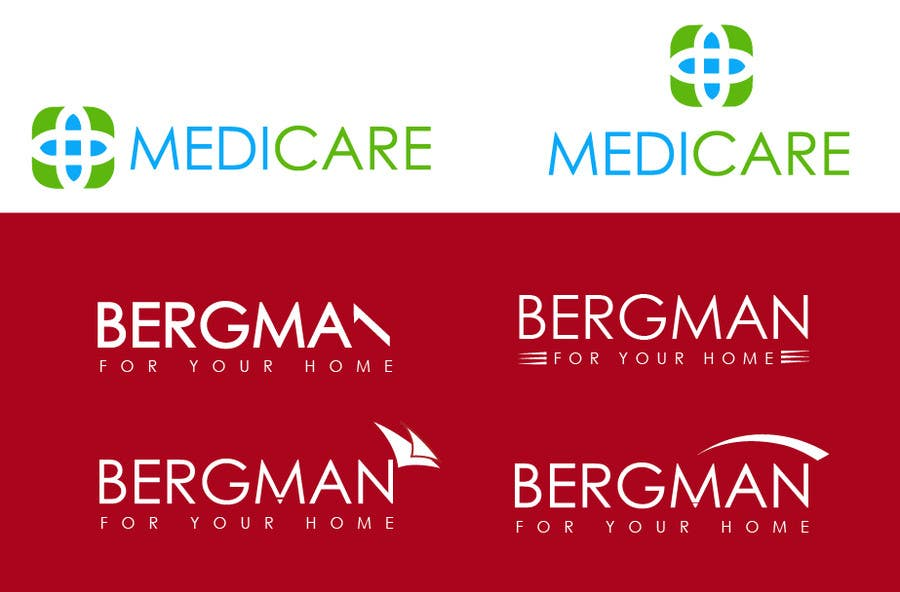 Bài tham dự cuộc thi #28 cho Logo design for BERGMAN MEDICARE