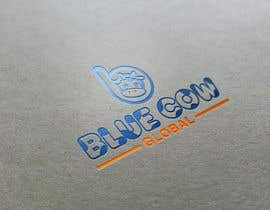 "eddesignswork tarafından Design a Logo for our ""Blue Cow Global"" için no 250"