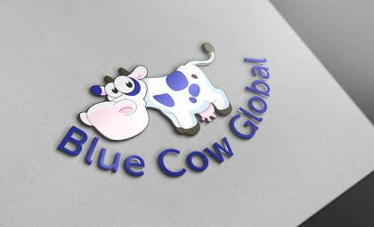 "#245 cho Design a Logo for our ""Blue Cow Global"" bởi DQD"