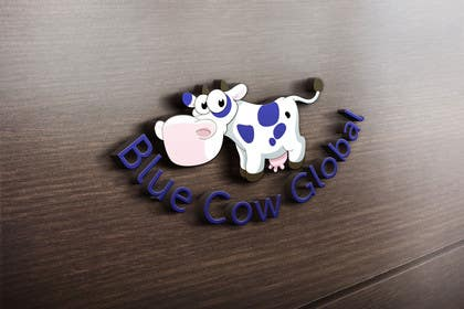 "#247 cho Design a Logo for our ""Blue Cow Global"" bởi DQD"