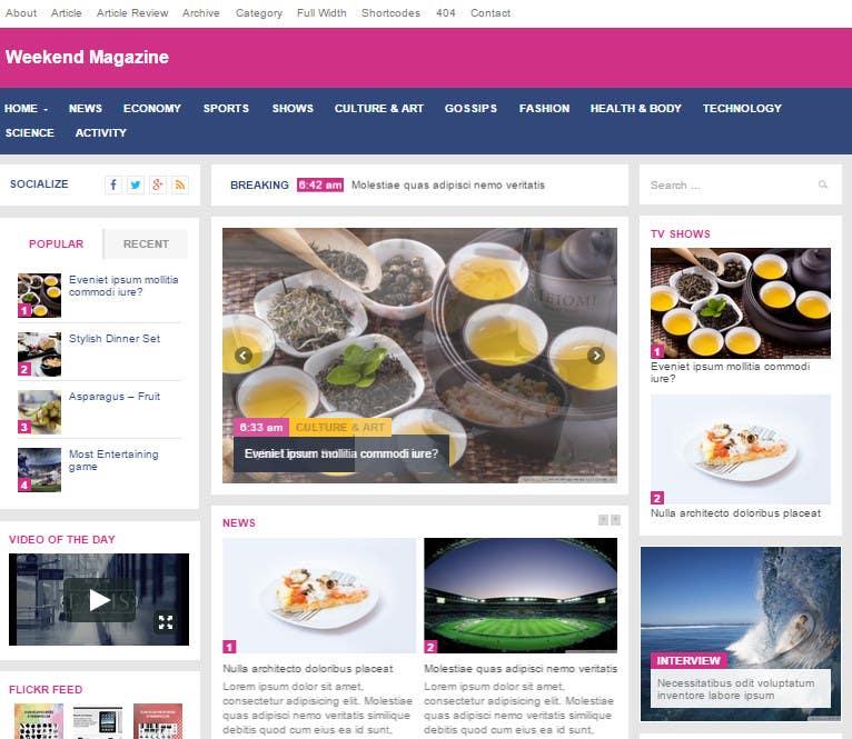 Bài tham dự cuộc thi #3 cho Design a webpage!