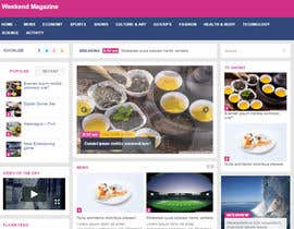 Nro 3 kilpailuun Design a webpage! käyttäjältä desing2015
