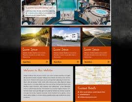 Nro 5 kilpailuun Design a webpage! käyttäjältä zarrtechnologies