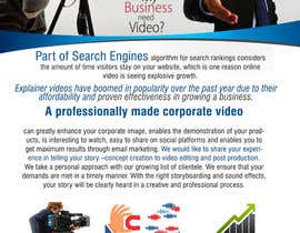 #7 for Design a Flyer for production of Corporate Video af adidoank123
