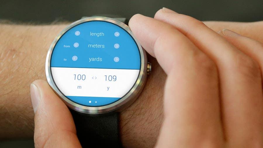 Penyertaan Peraduan #3 untuk Design an Android Wear app