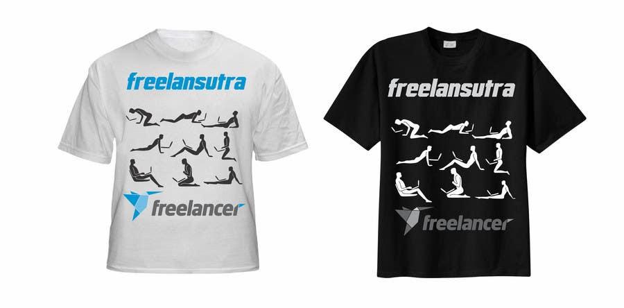 Inscrição nº                                         119                                      do Concurso para                                         T-shirt Re-design for Freelancer.com
