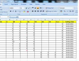 HSDU tarafından Do some Excel Work for Company to manage inventory -- 2 için no 9