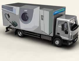 #4 for 3D Design - Truck Branding af sdmoovarss