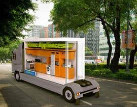 #25 for 3D Design - Truck Branding af Watfa3D