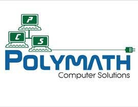 #55 for Logo Design for Polymath Computer Solutions by iakabir