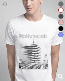 #1 untuk Hollywood Landscape Burn Scene/Capital Records Building - Haster Tshirt oleh thanhphong2653