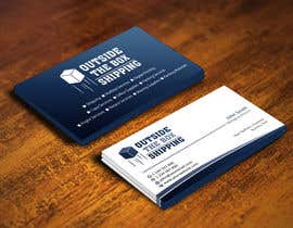 #110 for Business Card for Shipping Store/Company (Logo Supplied) af flechero