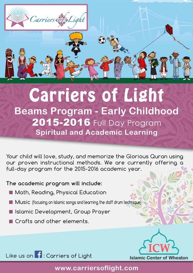 Bài tham dự cuộc thi #12 cho Design a Flyer for Preschool Program