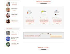 #20 cho Design a Website Mockup for Ratemypt.co bởi sauravT