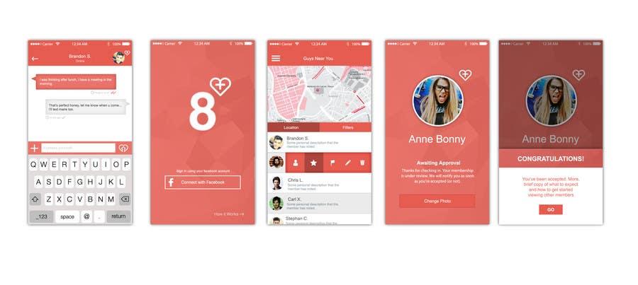 Inscrição nº 21 do Concurso para I need a designer for our mobile app UI