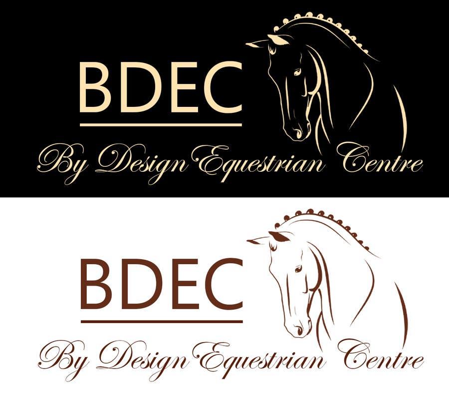 Kilpailutyö #18 kilpailussa Design a Logo for our Equestrian Centre