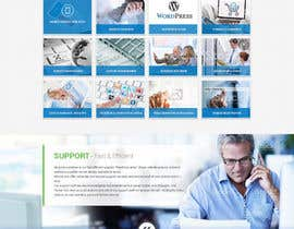 massoftware tarafından Design a Website Mockup for Responsive Wordpress için no 5