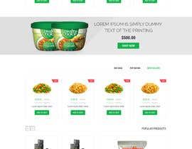 "#12 for Design a Website Mockup for  for an e-commerce Wordpress site ""MASHROO3K"" by htanhdesign"