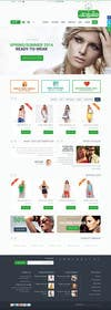 "#16 for Design a Website Mockup for  for an e-commerce Wordpress site ""MASHROO3K"" af WeakyRock"