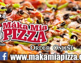 #11 untuk Design a Banner for Online Ordering - Pizza oleh shafique8573