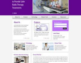 #50 for Design a Website Mockup for OncoSil Medical Ltd by anjaliarun09