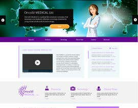 #51 untuk Design a Website Mockup for OncoSil Medical Ltd oleh jeransl