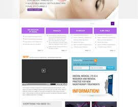 #47 for Design a Website Mockup for OncoSil Medical Ltd by logoforwin