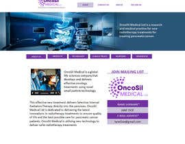 #52 for Design a Website Mockup for OncoSil Medical Ltd by freelancetutor