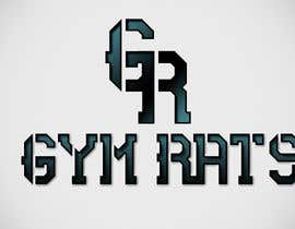 #43 para Design a Logo for Gym Rats por Avillar12