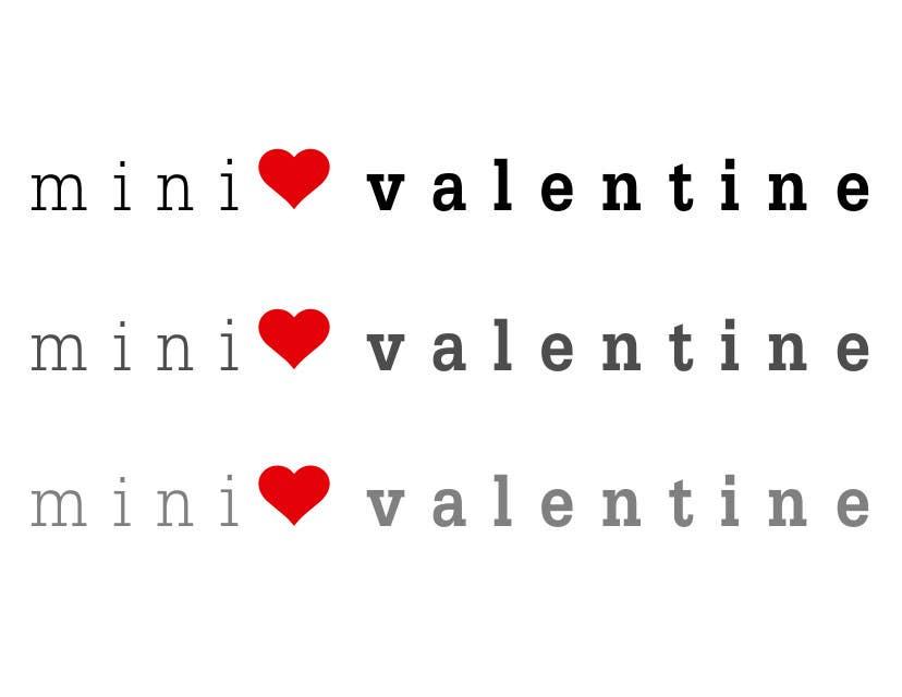 Penyertaan Peraduan #31 untuk Design a Logo for Mini Valentine