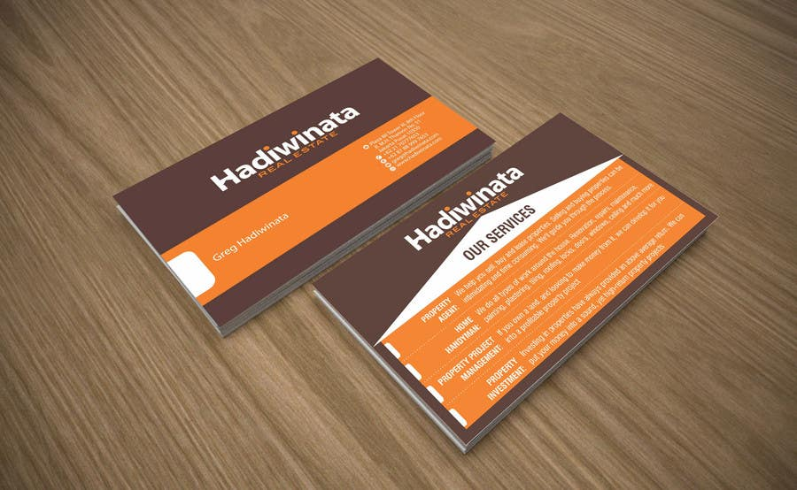 Penyertaan Peraduan #20 untuk Design Back of Business Cards with design concept provided