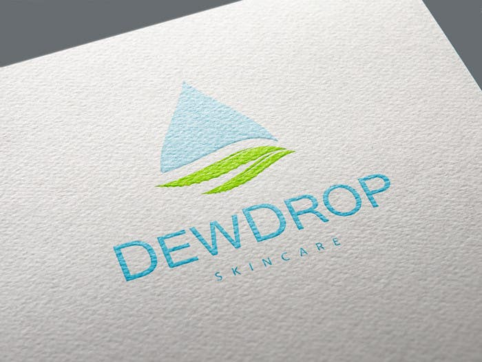 Kilpailutyö #231 kilpailussa Design a Logo for DewDrop SkinCare