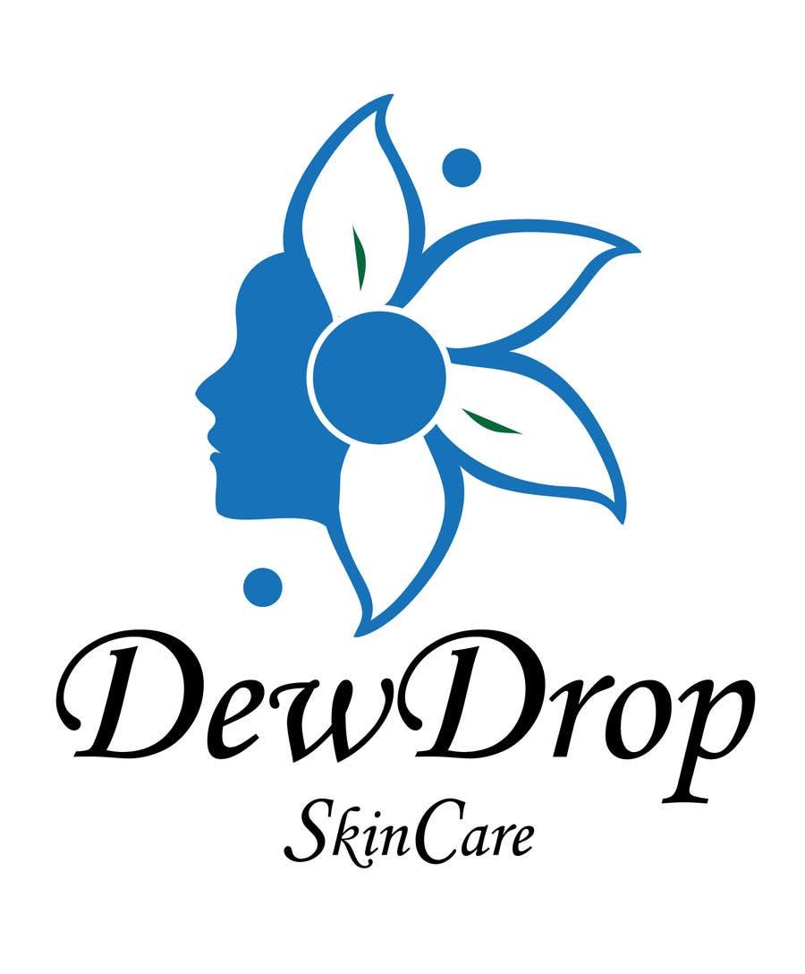 Kilpailutyö #207 kilpailussa Design a Logo for DewDrop SkinCare