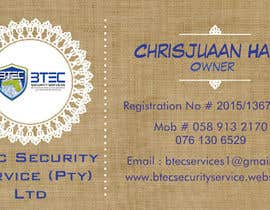 #5 para Design a letterhead and business cards for a security company por TJerin