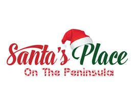#20 para Design a Logo for  Santa's Place on the Peninsula por Zsuska