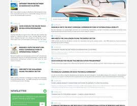 #23 cho Redesign some are of our main page bởi mateidrago
