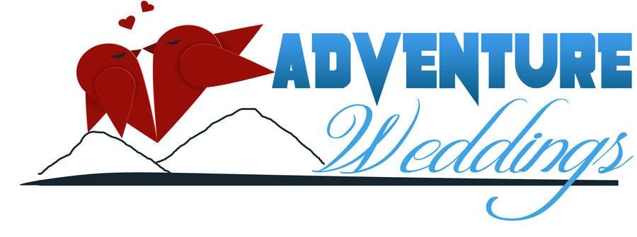 Penyertaan Peraduan #25 untuk Design a Logo for Adventure Weddings