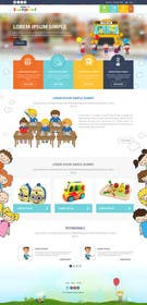 #7 for Design a Website Mockup for Pre-school center website af ankisethiya