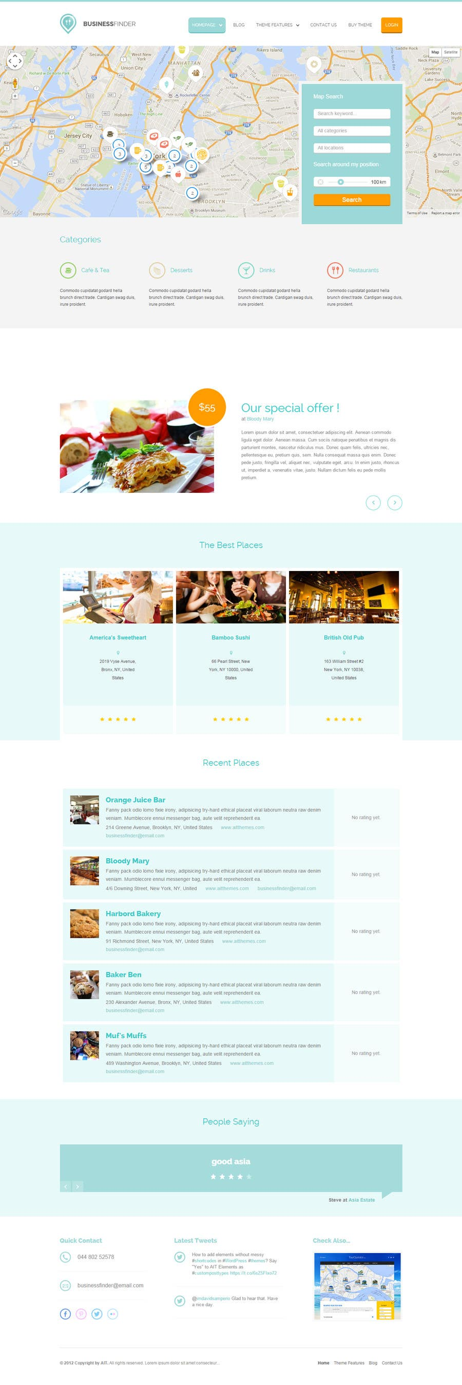 Bài tham dự cuộc thi #16 cho Mock up pages for a real estate site utilizing the ken WordPress theme