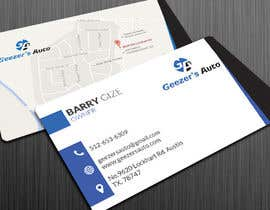 #11 para Design some Business Cards for Auto Repair Shop por Vishwa94