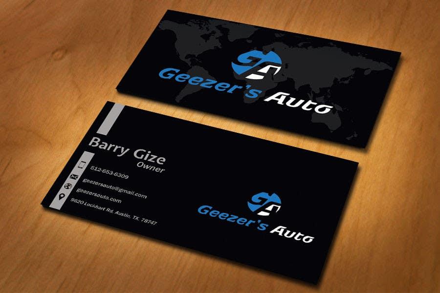 Inscrição nº 9 do Concurso para Design some Business Cards for Auto Repair Shop