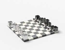 #7 untuk Photo Realistic 3D Rendering of a minimalistic chess board on top of a surface. oleh mekhack