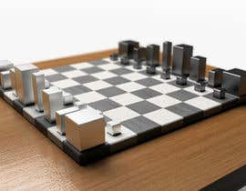 #23 untuk Photo Realistic 3D Rendering of a minimalistic chess board on top of a surface. oleh mekhack
